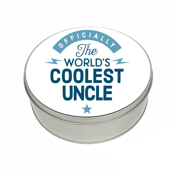 Uncle Gift, Coolest Uncle, Perfect Uncle Christmas Present or Birthday Tin