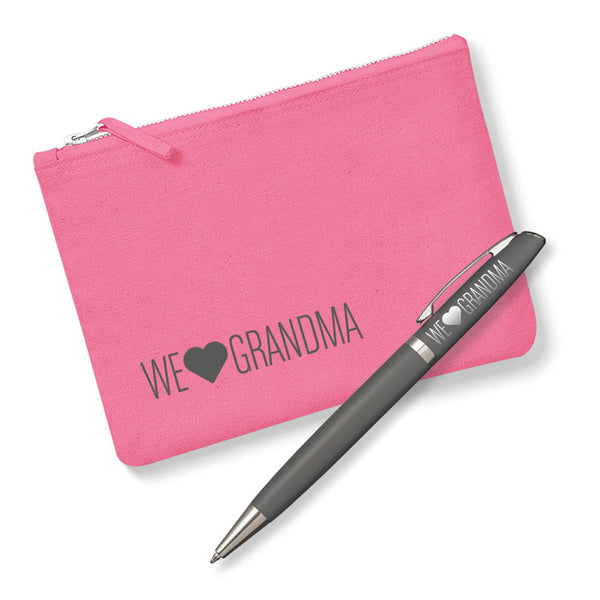 Grandma Gift, Laser Engraved Metal Pen with Accessory Bag, Greatest Grandma, Birthday or Christmas, Best Grandma