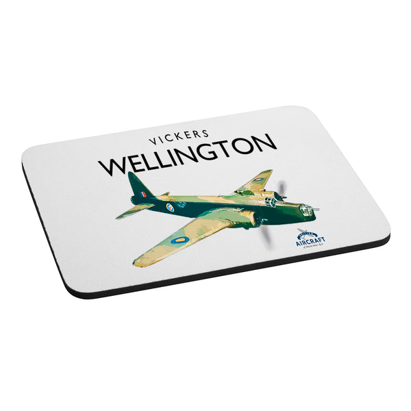 Vickers Wellington, Gift, Computer Mouse Mat, WWII Aircraft Gift For Collectors, Men and Women