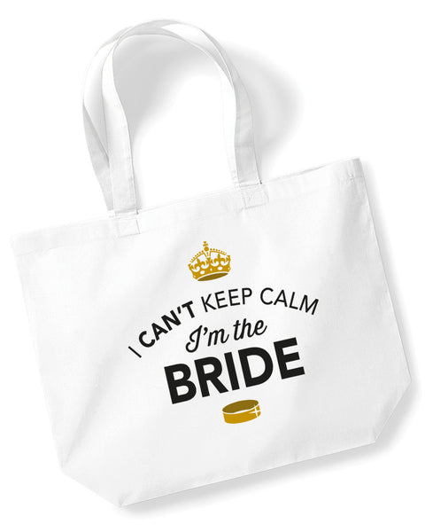 Bride Gift Bag For Wedding Hen Night – Can't Keep Calm