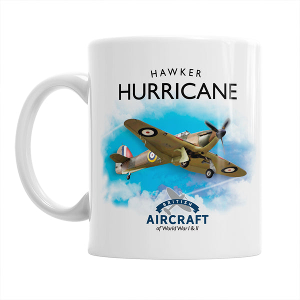 Hawker Hurricane Flying Legend, Hawker Mug, WWII Aircraft Gift For Men and Women