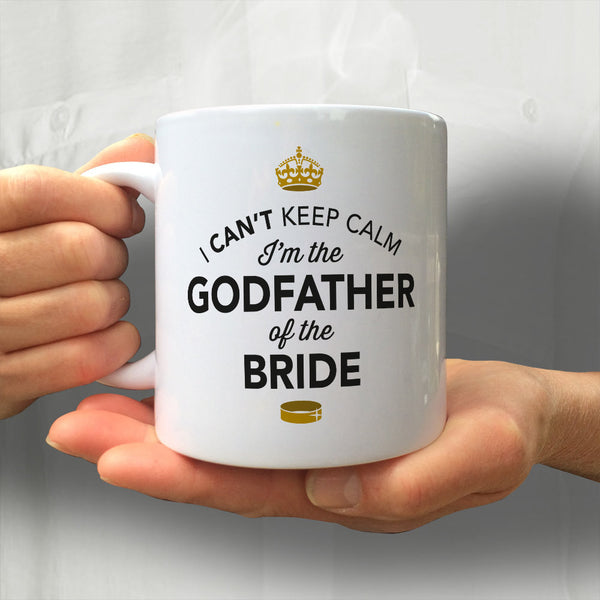 Godfather of The Bride, Wedding Mugs, Brides Godfather, Brides Godfather Gift, Brides Godfather, Godfather of The Bride, Wedding Gift Ideas