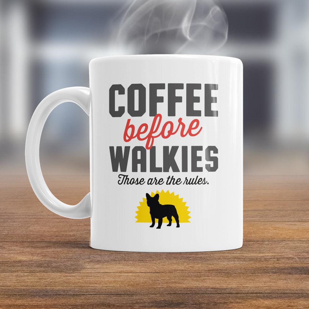 French Bulldog Mug, French Bulldog Gift For The French Bulldog Lover Who Also Loves Coffee, French Bulldog Coffee Mug, Dog Lover Gift