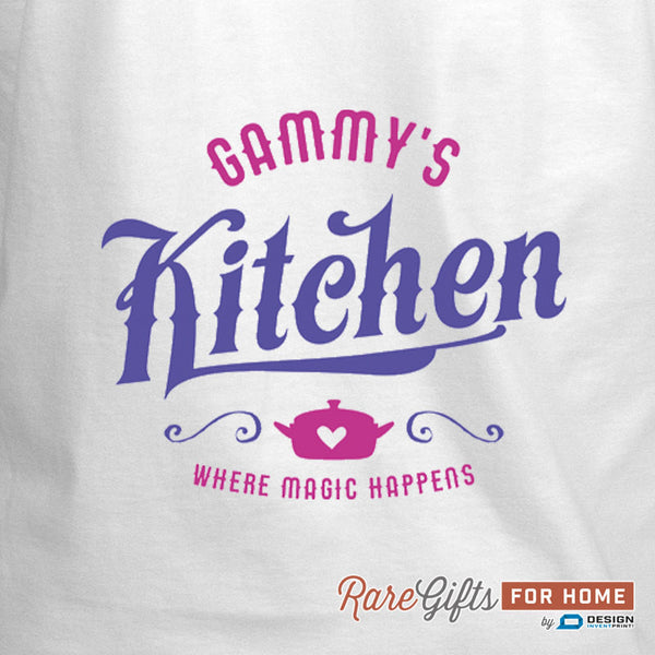 Gammy Gift, Birthday Gift For Gammy! Funny Apron, Keep Calm, Gammys Kitchen, Cooking Gift, Awesome Gammy, Personalized, Gammy Shirt