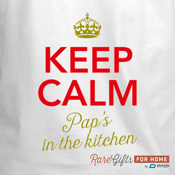 Pap Gift, Awesome Pap, Pap Birthday, Funny Apron, Cooking Gift For Pap, Pap's In The Kitchen, Personalized Pap Gift. Alternative Pap Shirt!