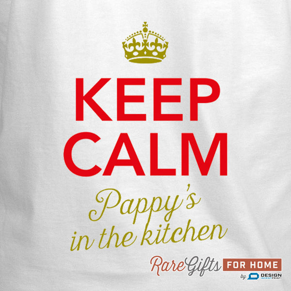 Pappy Gift, Pappy's In Kitchen, Awesome Pappy, Pappy Birthday, Pappy Apron, Cooking Gift For Pappy, Personalized Pappy