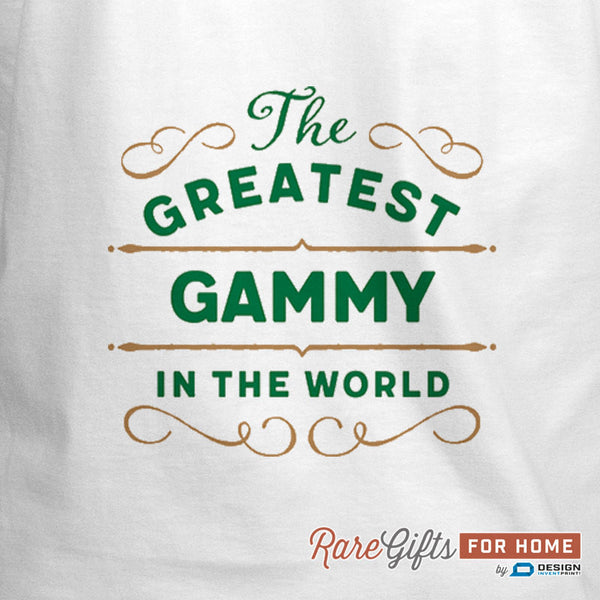 Gammy Gift, Birthday Gift For Gammy! Funny Apron, World's Greatest Gammy, Gammys Kitchen, Cooking Gift, Awesome Gammy, Personalized