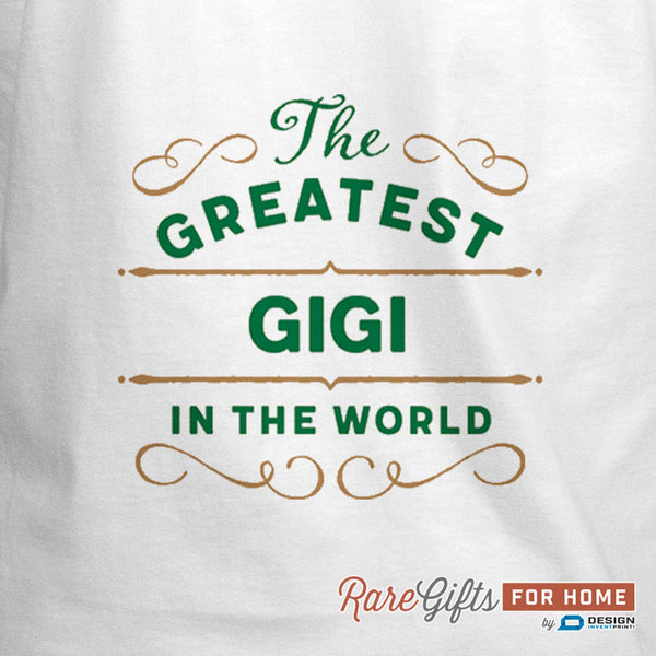 Gigi Gift, Birthday Gift For Gigi! Funny Apron, World's Greatest Gigi, Cooking Gift, Personalized, Present For Gigi