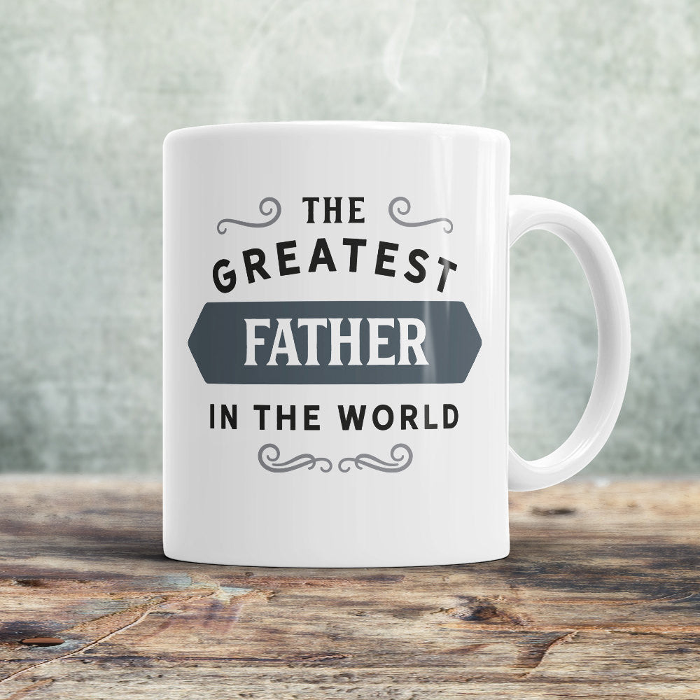 Father Gift Mug Fathers Day Birthday For Greatest Fath Design Invent Print