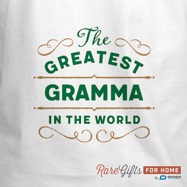 Gramma Gift, Birthday Gift For Gramma! Funny Apron, Greatest Gramma In The Kitchen, Cooking Gift, Awesome Gramma, Personalized