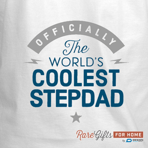 Stepdad Gift, Cooking Gift For Stepdad, Coolest Stepdad, Stepdad Birthday, Funny Apron,  Stepdad's In The Kitchen, Personalized Stepdad Gift