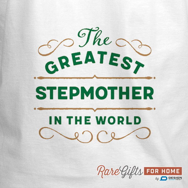 Stepmother Gift, Birthday Gift For Stepmother! Funny Apron, Greatest Stepmother, Cooking Gift, Personalized, Present Stepmother