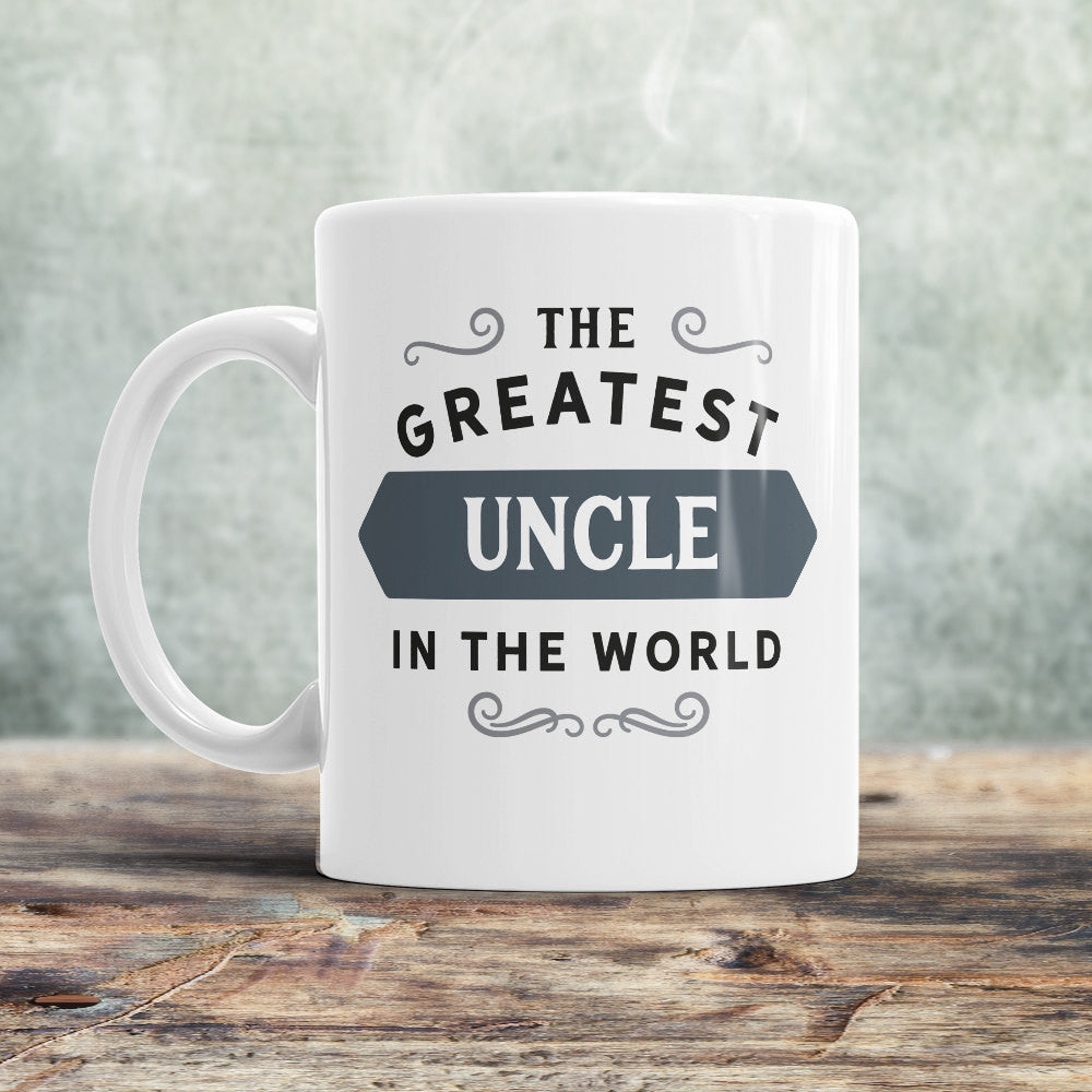 Uncle Mug Gift Birthday For Greatest Design Invent Print