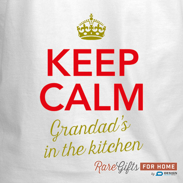 Grandad Gift, Awesome Grandad, Grandad Birthday, Funny Apron, Cooking Gift Grandad, Grandad's In The Kitchen, Personalized, Grandad Shirt