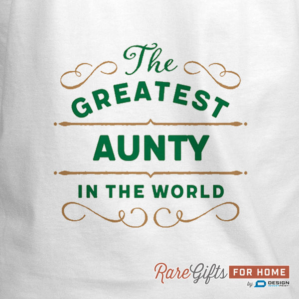 Aunty Gift, Birthday Gift For Aunty! Funny Apron, World's Greatest Aunty, Cooking Gift, Aunty Gift, Personalized, Alternative Aunty Shirt
