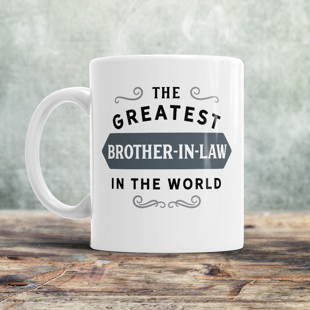 Brother In Law Mug BIL Birthday Gift For Greatest Bro Design Invent Print