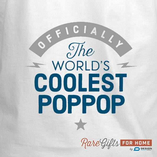 Pop Pop Gift, Pop Pop Birthday, Cooking Gift, Coolest Pop Pop, Pop Pop In The Kitchen, Personalized Pop Pop Gift. Alternative Pop Pop Shirt