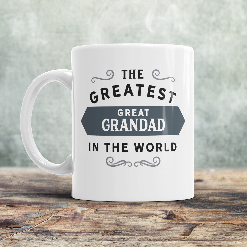 Greatest Great Grandad, Great Grandad Mug, Birthday Gift For Great Grandad! Great Grandad Gift. Great Grandad, Great Grandad Present