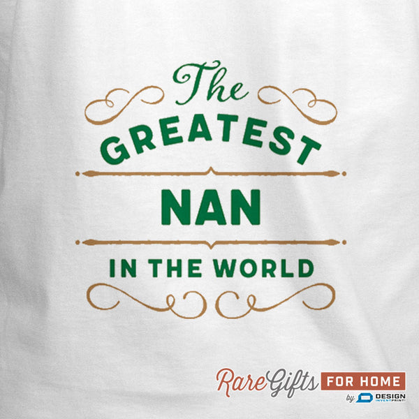 Nan Gift, Cooking Gift, Birthday Gift For Nan! Funny Apron, Coolest Nan, Awesome Nan, Personalized, Alternative Nan Shirt
