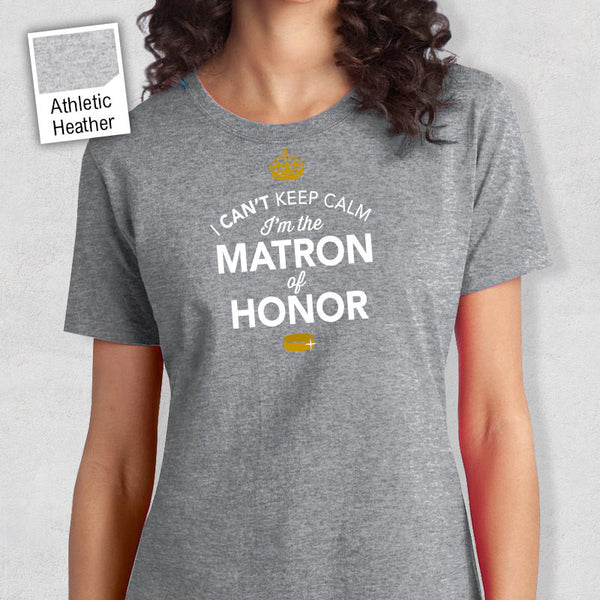 Matron Of Honor Shirt, Matron Of Honor To Be, Getting Married, Funny Matron Of Honor Shirt, Marriage Shirt, Shirt, Funny Wedding Gift