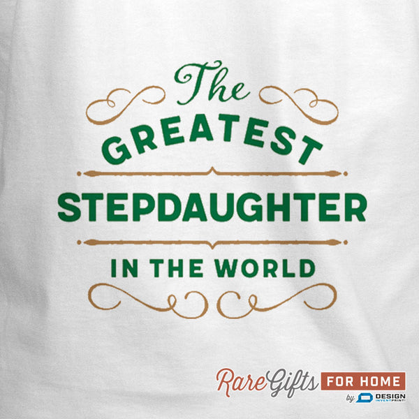 Stepdaughter Gift, Birthday Gift For Stepdaughter! Funny Apron, Greatest Stepdaughter, Cooking Gift,Personalized, Present For Stepdaughter,