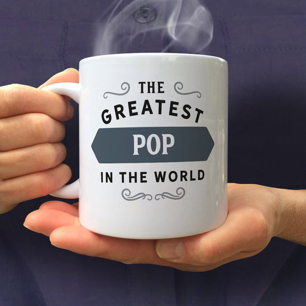 Pop Gift, Pop Mug, Pop birthday, Greatest Pop, World's Coolest Pop, Birthday Gift For Pop,  Pop Mug For An Awesome Pop, Present For Pop