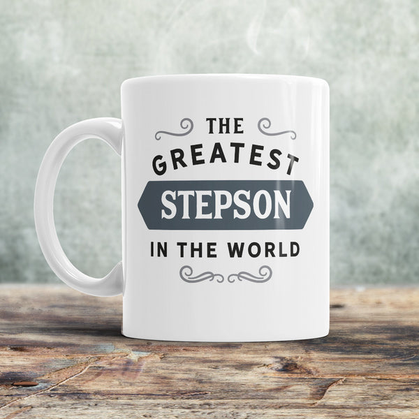 Stepson Mug, Gift For Stepson, Step Son Gift, Birthday Gift! Step Son Birthday Gift, Father Step Son Gift, Mother Step Son Gift