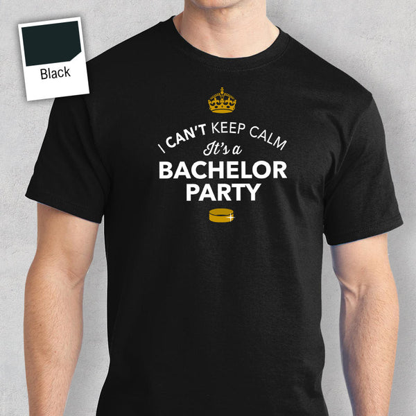 Funny Bachelor Shirt, Husband To Be Shirt, Can't Keep Calm, It's My Bachelor Party! Bachelor Party Shirt, Bachelor Party Tees, Groomsmen!