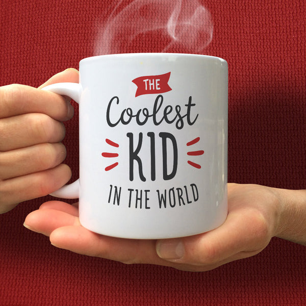 Kids Mug, Kids Gift, Cool Kids, Childrens Mug, Childs Mug, Boys Mug, Gifts for Children, Child Cup, Funny Mugs, Ceramic Mug, Kids Present