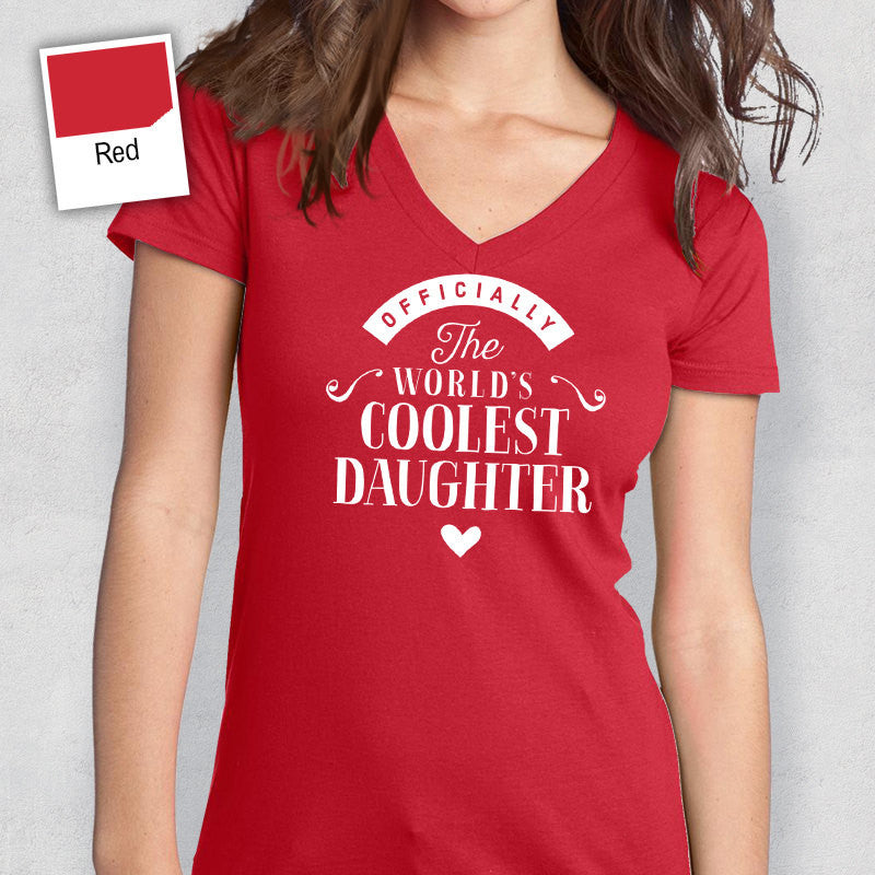Cool Daughter Shirt Birthday Gifts Gift T