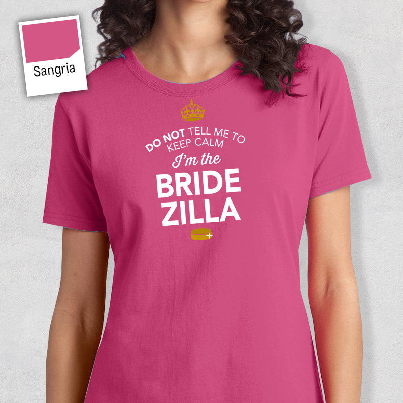 BrideZilla, Bride To Be, Getting Married, Bride Shirt, Funny Bride Shirt, Marriage Shirt, Wedding Shirt, Engagement, Funny Wedding Gift!
