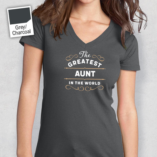 Greatest Aunt, Aunt Gift, Aunt T-shirt, World's Greatest Aunt Shirt, Gift For Aunt, Aunt T Shirt