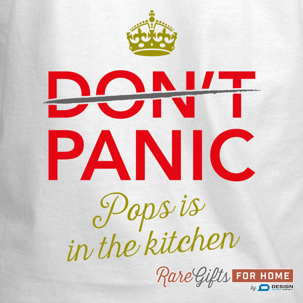 Pops Gift, Awesome Pops, Pops Birthday, Cooking Gift, Pops's In The Kitchen, Personalized Pops Gift. Alternative Pops Shirt!