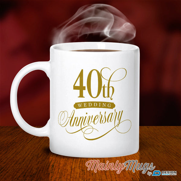 40th Wedding Anniversary, 40th Wedding Gift, Ruby Wedding, 40th Anniversary, Wedding Anniversary, 40 Year Anniversary, 40th Wedding Idea