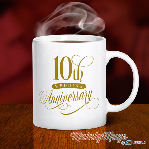 10th Wedding Anniversary, Aluminium Wedding, 10th Wedding Gift, 10th Anniversary, Wedding, 10 Year Anniversary, 10th Wedding Idea