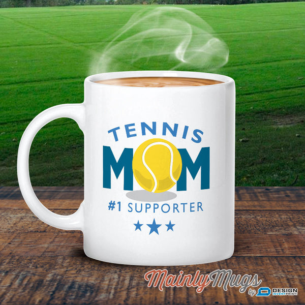 Tennis Mom, Tennis Mom Gift, Authentic Tennis Mom Design, Tennis Mom Mug, For Tennis Wedding, Tennis Mum, Tennis Party, Tennis Decor