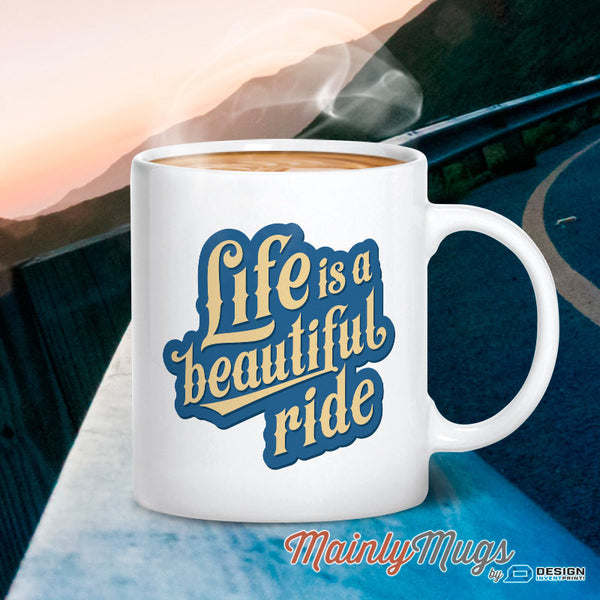 Biker Gift, Motorcycle Gift, Life Is A Beautiful Ride! Motorcycle Art, Motorcycle Toy, Motorcycle Wedding Idea! Vintage Motorcycle, Bike Art