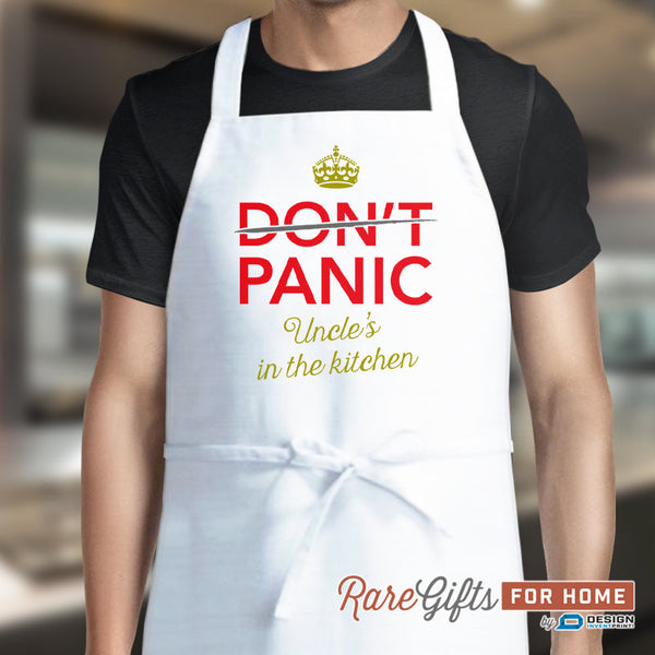 Uncle Gift, Awesome Uncle, Uncle Birthday, Funny Apron, Cooking Gift For Uncle, Uncle's In The Kitchen, Personalized Uncle Gift