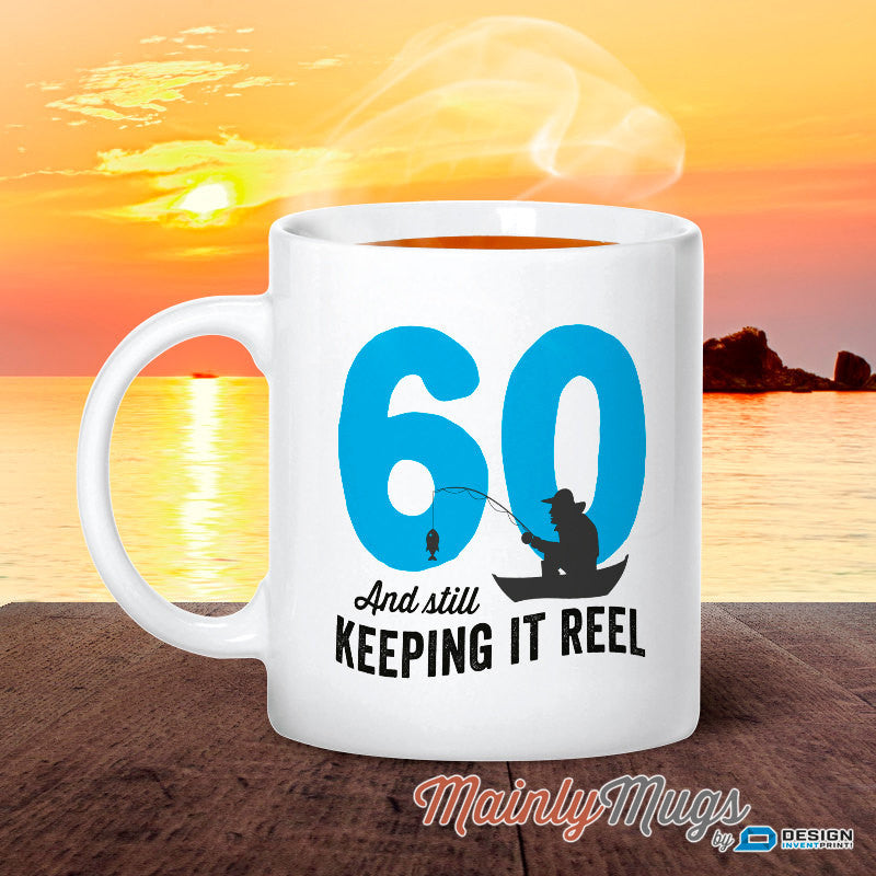 60 Year Old 60th Birthday 1957 Fishing Gift Idea