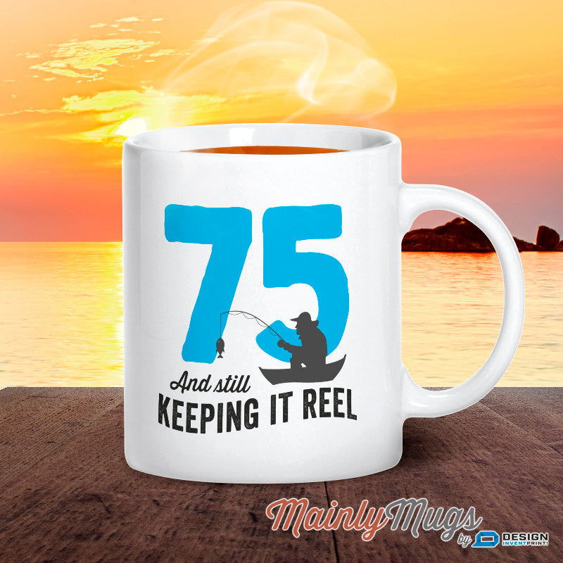 75th Birthday 1942 Fishing Gift Idea