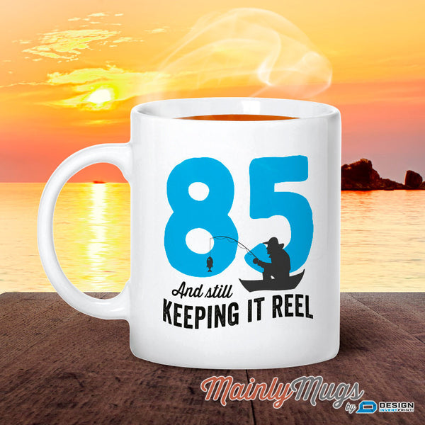 85th Birthday, Birthday, Fishing Birthday, 85th Birthday Gift, 85th Birthday Idea, Happy Birthday, 85th Birthday Gift for 85 year old