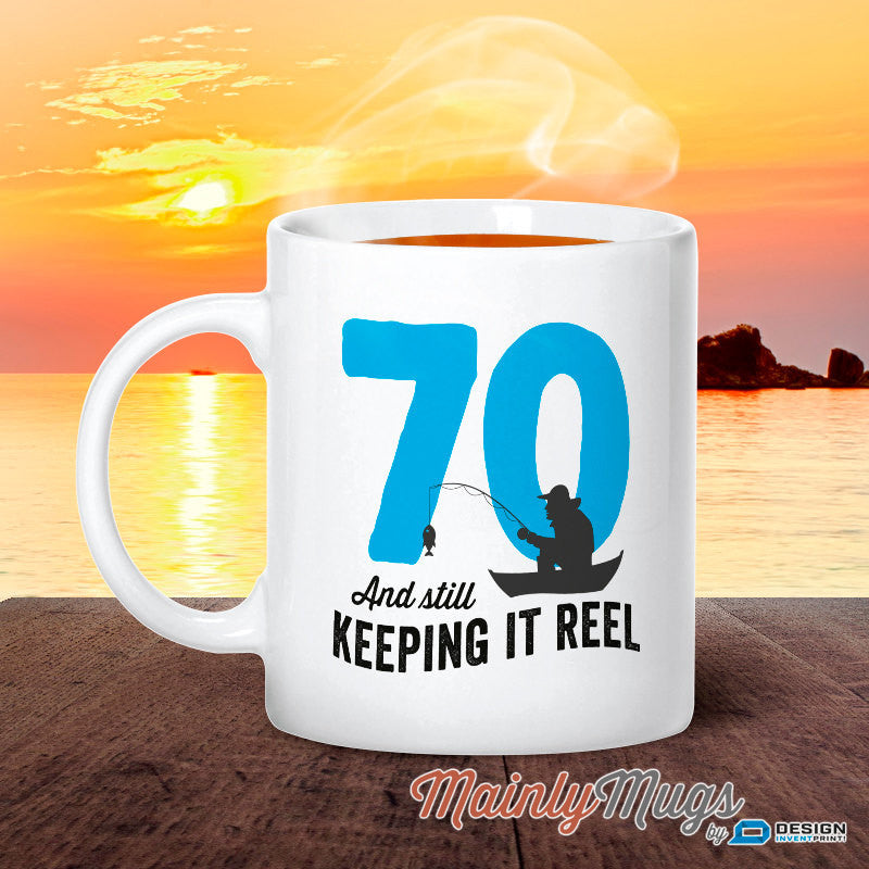 70 Year Old 70th Birthday 1947 Fishing Gift Idea