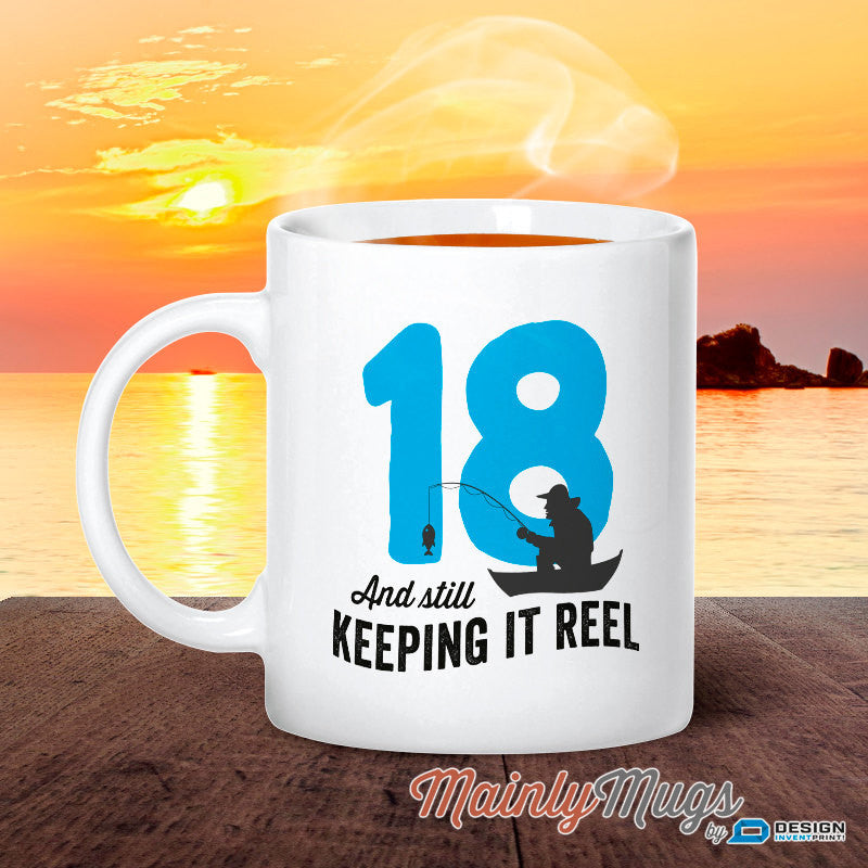 18th Birthday 1999 Fishing Gift 18 Design Invent Print