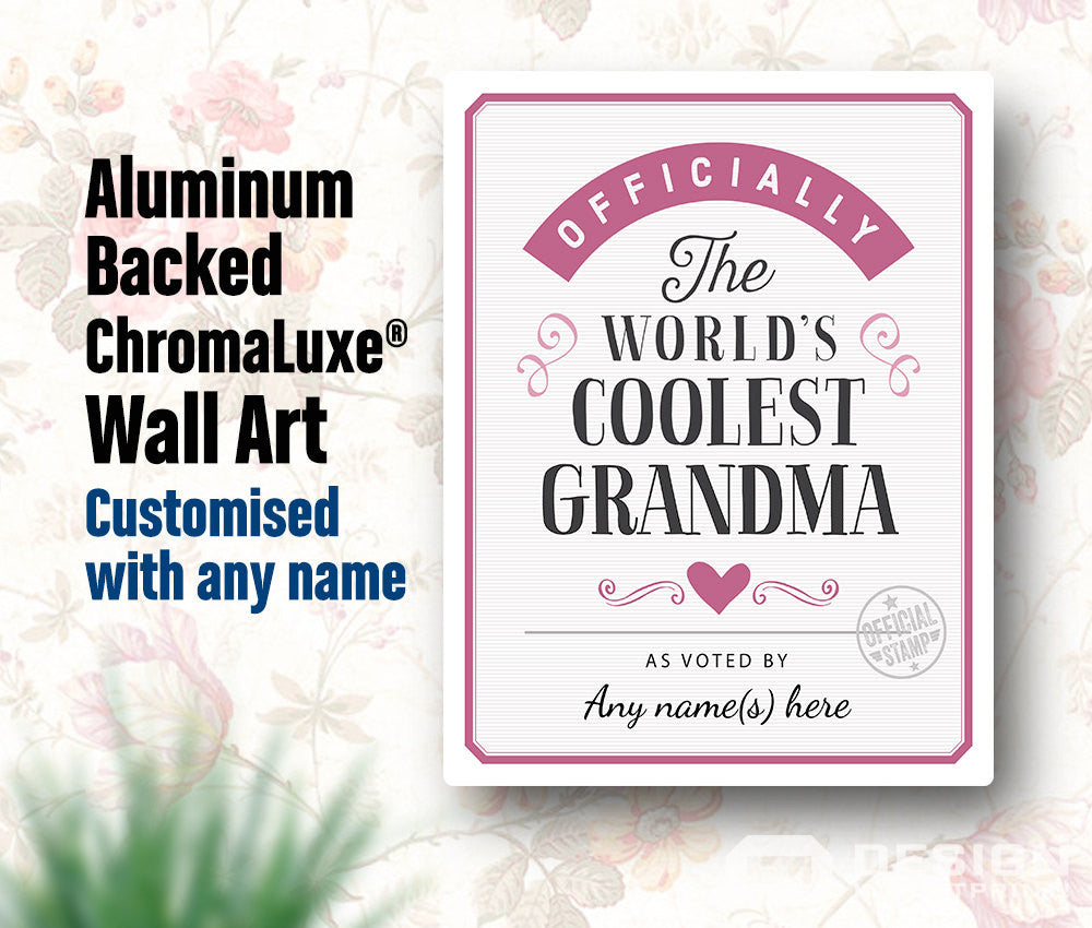 Grandma Gift For New Birthday To B Design Invent Print