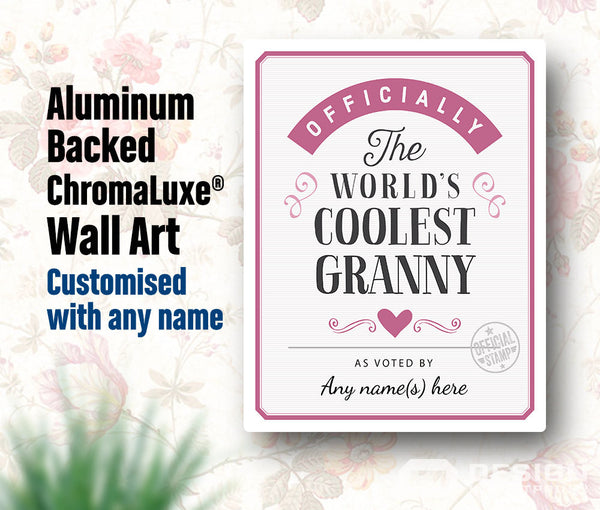 Granny Gift, For New Granny! Birthday Gift For Granny! Granny To Be, Granny Print, Picture Frame, Personalized And Delivered To Your Door!