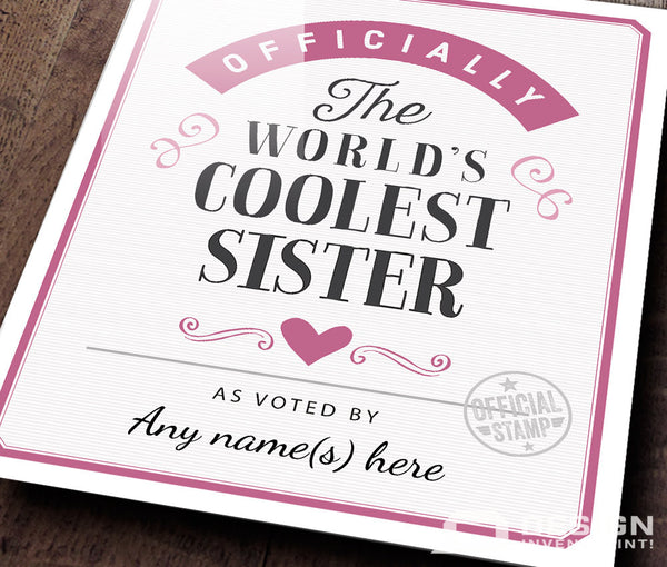 Sister Gift, For New Sister! Sister birthday, Sister To Be, Sister Print, Sister Wedding Gift, Picture Frame, Personalized Sister Gift