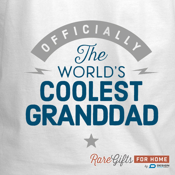 Granddad Gift, Birthday Gift For Granddad! Funny Apron, Coolest Granddad, Cooking Gift, Awesome Granddad, Personalized, Present For Granddad