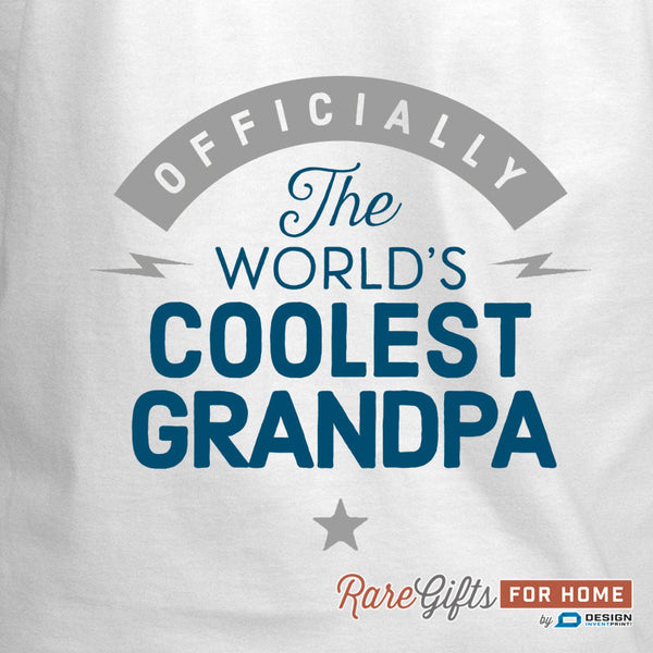 Grandpa Gift, Birthday Gift For Grandpa! Funny Apron, Coolest Grandpa, Cooking Gift, Awesome Grandpa, Personalized, Present For Grandpa