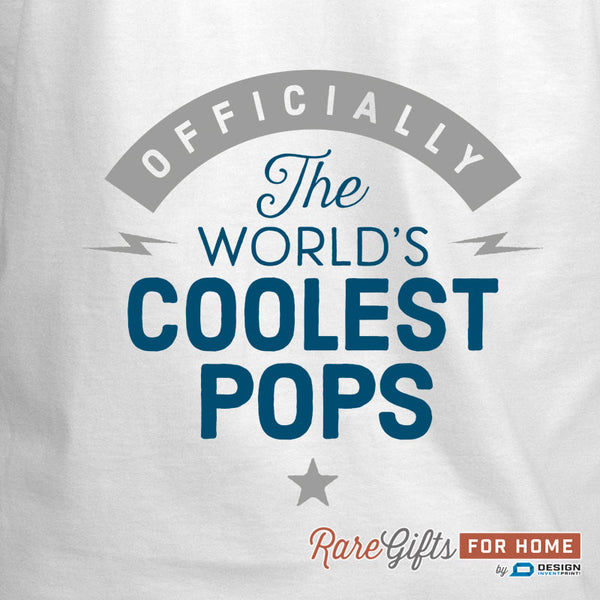Pops Gift, Birthday Gift For Pops! Funny Apron, Coolest Pops, Cooking Gift, Awesome Pops, Personalized, Present For Pops