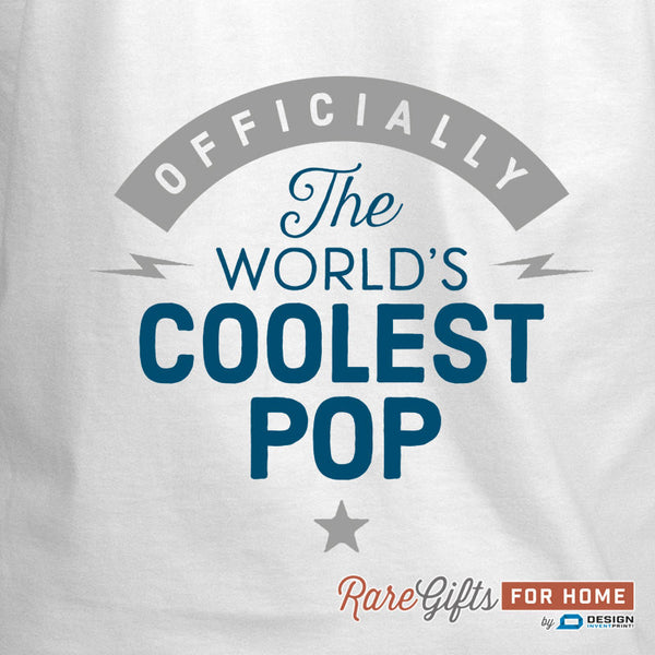 Pop Gift, Birthday Gift For Pop! Funny Apron, Coolest Pop, Cooking Gift, Awesome Pop, Personalized, Present For Pop, Alternative Pop Shirt